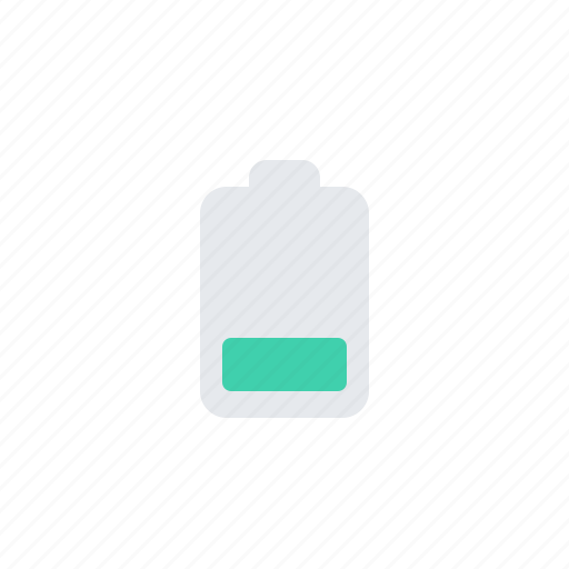 battery, energy, low, low power, power, uncharged icon