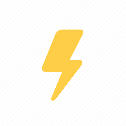 bolt, electricity, flash, power, speed, thunderbolt, weather icon