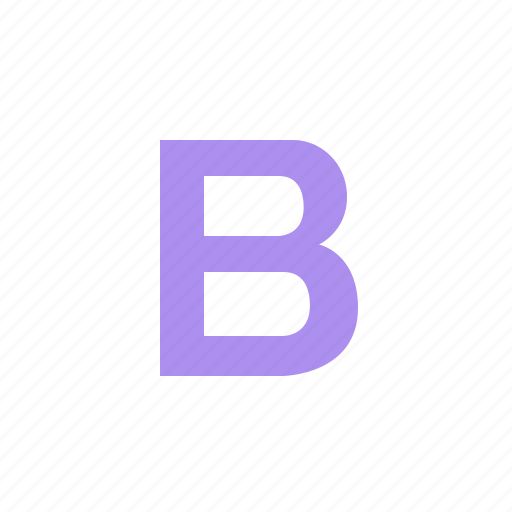 bootstrap, coding, development, framework, logo icon