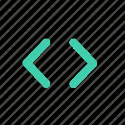 code, coding, development, technology, web icon