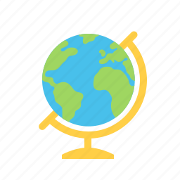 earth, globe, planet, school, world icon