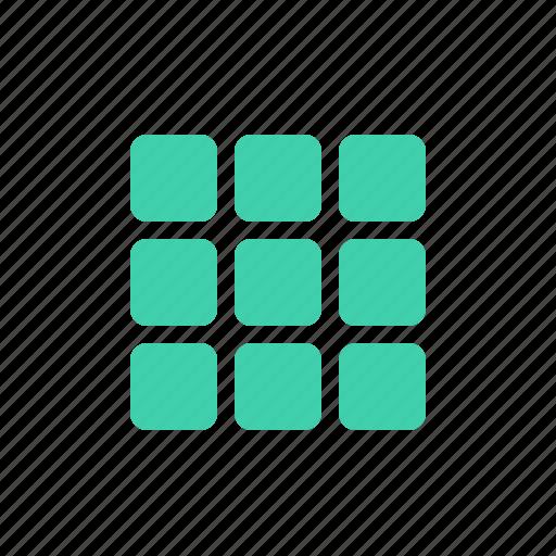Apps, grid, lis...