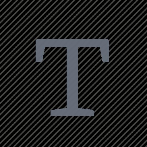 font, text, type icon