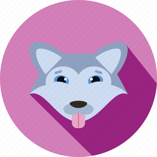 animal, animals, cc, dog, face, happy, pet icon
