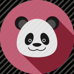 animal, animals, bamboo, bear, cc, cute, panda icon