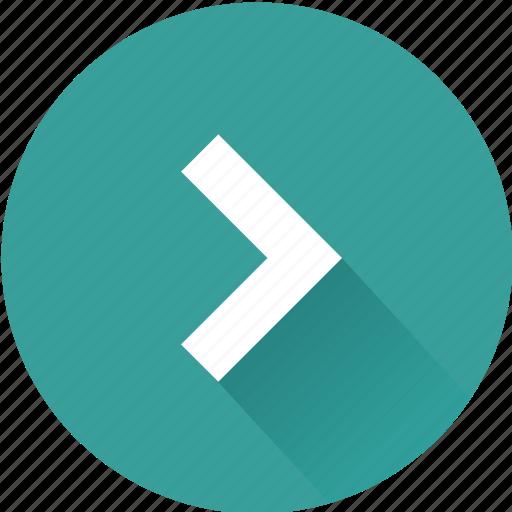 arrow, cursor, pointer, right icon