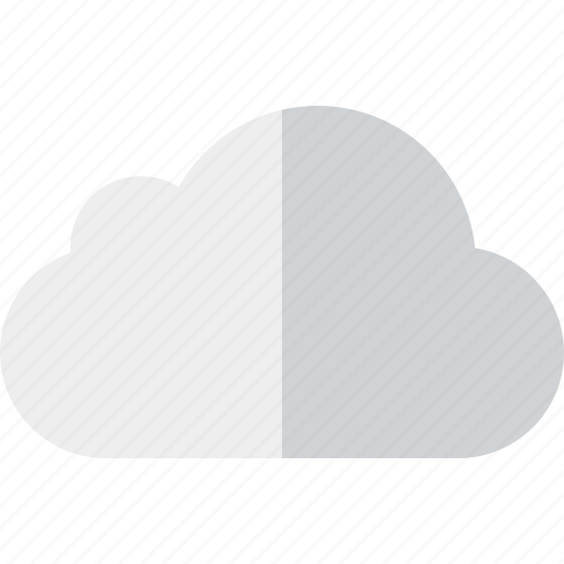 cloud, network, storage, weather icon
