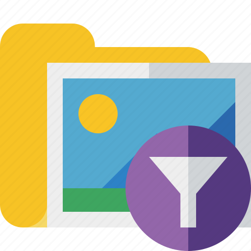 filter, folder, gallery, images, media, pictures icon