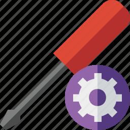 repair, screwdriver, settings, tool, tools icon