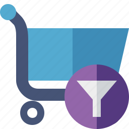 business, buy, ecommerce, filter, shopping icon
