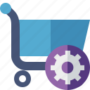 business, buy, ecommerce, settings, shopping icon