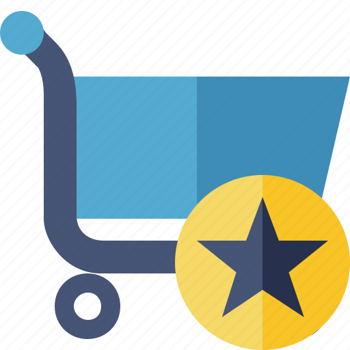business, buy, ecommerce, shopping, star icon