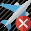 airplane, cancel, flight, plane, transport, travel