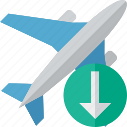 airplane, download, flight, plane, transport, travel icon