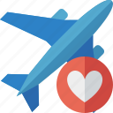 airplane, favorites, flight, plane, transport, travel icon