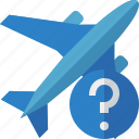 airplane, flight, help, plane, transport, travel icon