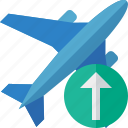 airplane, flight, plane, transport, travel, upload