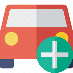 add, auto, car, traffic, transport, vehicle icon
