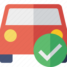 auto, car, ok, traffic, transport, vehicle icon