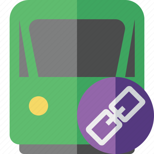 delivery, link, railway, train, transport, travel icon