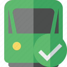 delivery, ok, railway, train, transport, travel icon