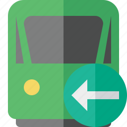 delivery, previous, railway, train, transport, travel icon