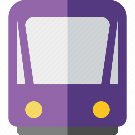 public, train, tram, tramway, transport icon