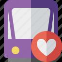 favorites, public, train, tram, tramway, transport