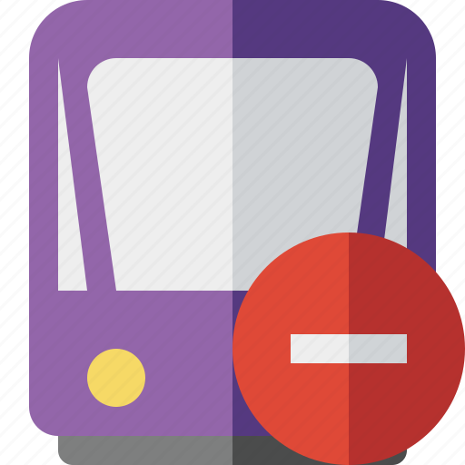 public, stop, train, tram, tramway, transport icon