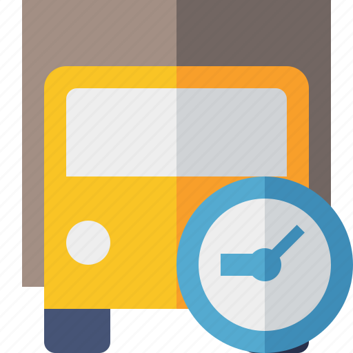 clock, delivery, transport, transportation, truck, vehicle icon