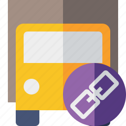 delivery, link, transport, transportation, truck, vehicle icon