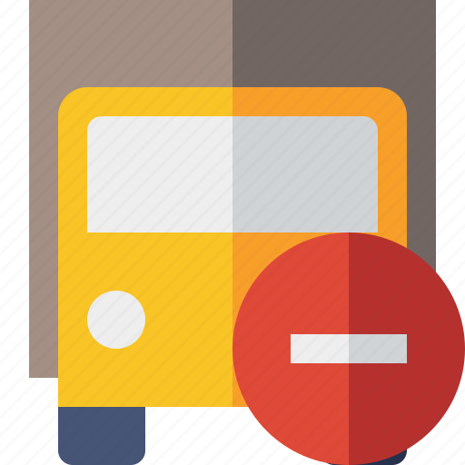 delivery, stop, transport, transportation, truck, vehicle icon