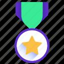 award, medal, prize, star