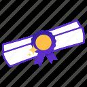 achievement, success, diploma