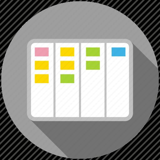 agile, development, kanban, lean, product management icon