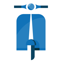 moto, scooter, tourism, transport, travel, trip, vespa icon