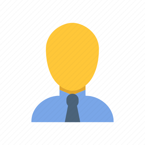 avatar, businessman, user icon