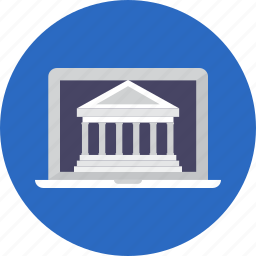 banking, business, finance, internet icon