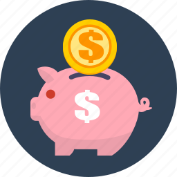 business, deposit, finance, money, saving icon