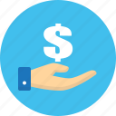 business, donate, finance, money icon