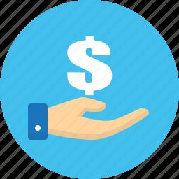 business, donate, finance, money icon