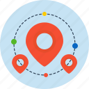 map, local, finance, business