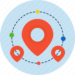 business, finance, local, map icon