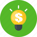 business, finance, idea, money icon