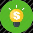 money, finance, business, idea