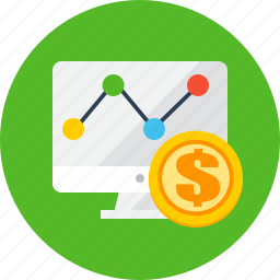 business, finance, market, payment, reseach icon