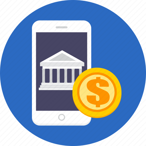 banking, business, finance, mobile, money icon