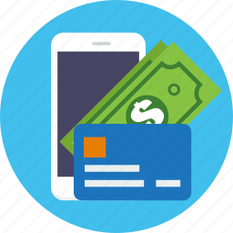 business, card, credit, finance, mobile, money icon