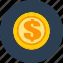 money, coin, finance, business
