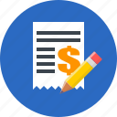 business, contract, finance, money icon